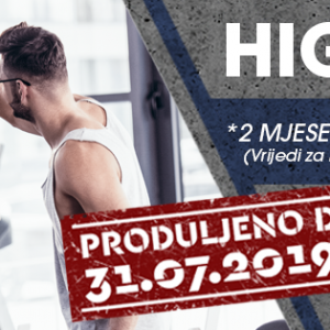 HIGH FIVE - najbolja ponuda u gradu!